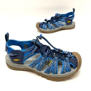 Keen waterproof blue/gray women's sandals size 8.5